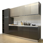 Acrylic Kitchen Cabinet