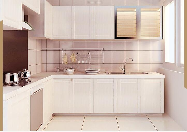 Accepted custom furniture melamine kitchen cabinet, View ...